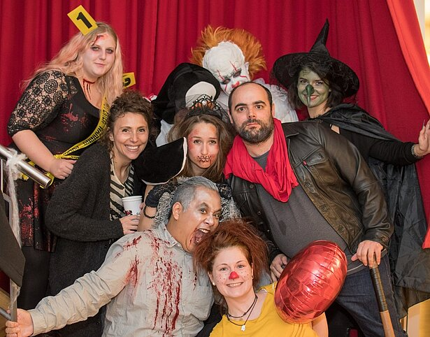 A Fun and Spooky Halloween Party at GameDuell!