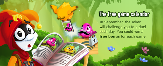 FREE Game EVERY DAY at GameDuell in September!