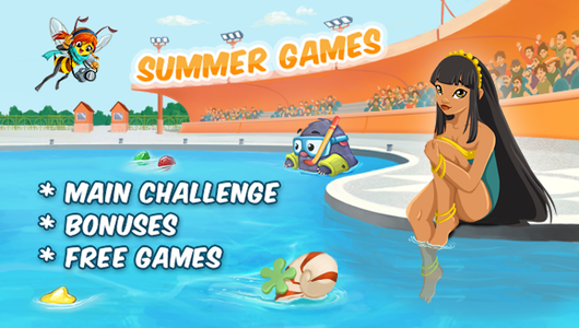 "GameDuell ""Summer Games"" are roaring to go!"