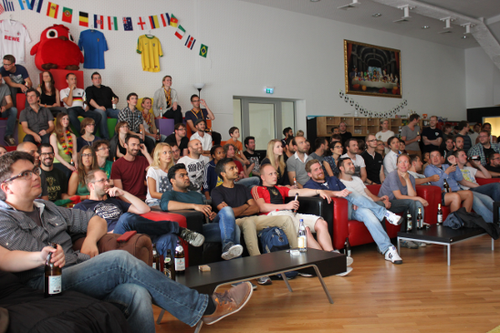 World Cup Football Viewing and yummy BBQ @ GameDuell