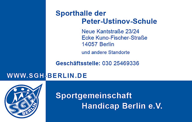 "More than just sports: the sports club ""SG Handicap Berlin e.V."""