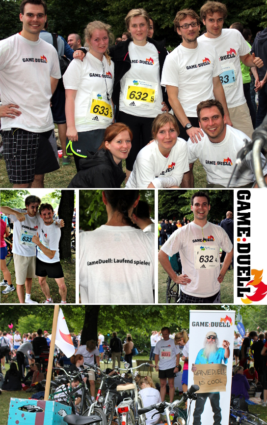 Stay fit in the summer with GameDuell: Berlin Team Relay