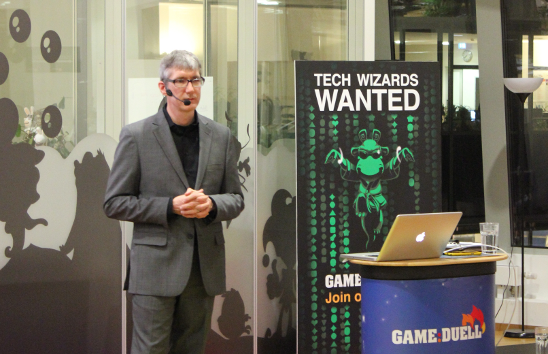 GameDuell TechTalk with Ed Burns : video online!