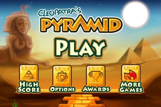New iOS game: Cleopatra's Pyramid for mobile