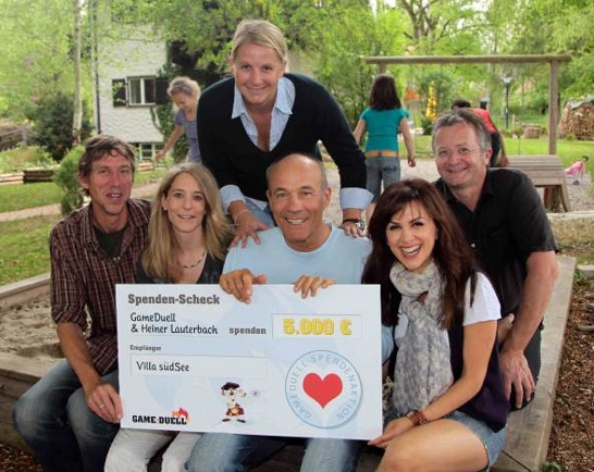 GameDuell donates 5,000 Euro to Project Villa suedSee