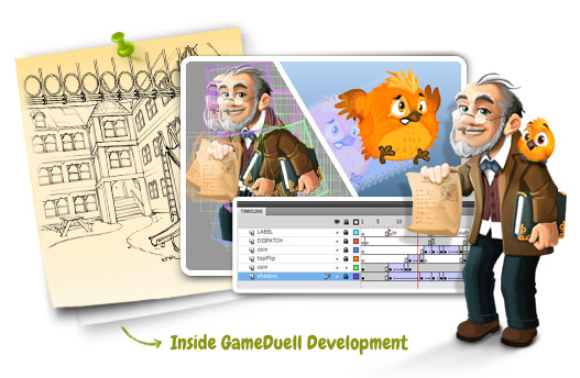 "Invitation: Take a look behind the curtain at ""Inside GameDuell Development"""