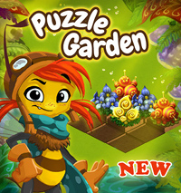 New GameDuell game: Puzzle Garden