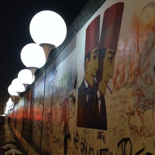 Celebrating the 25th Anniversary of the Fall of the Berlin Wall
