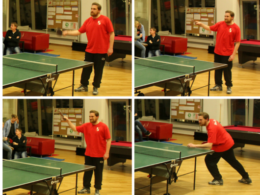 Table Tennis Masters at GameDuell