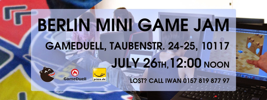 GameDuell to Host Berlin Mini Game Jam